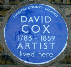 COX David lived here, LCC 9 Foxley Cottages later known as 34 Foxley Road