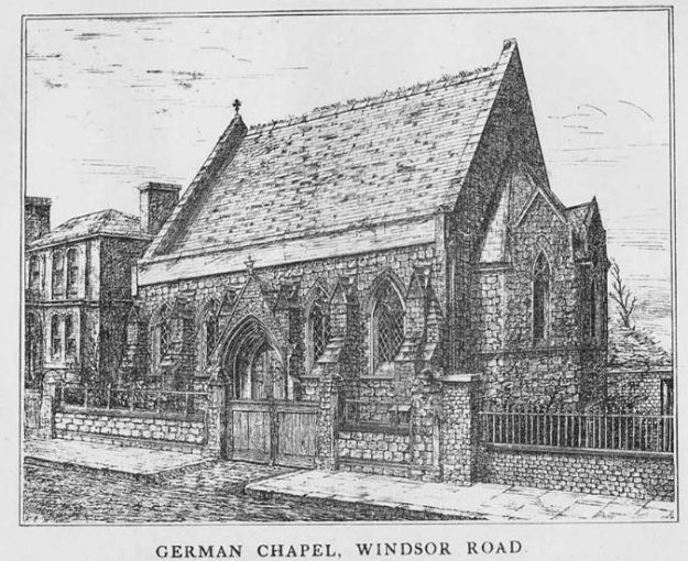 German Chapel, Windsor Road