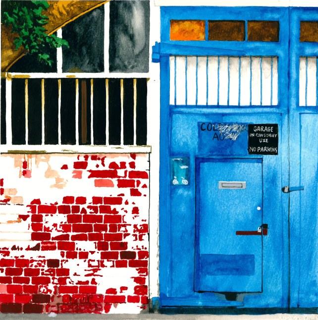 Paul Ashurst, Wanless Road, Watercolour