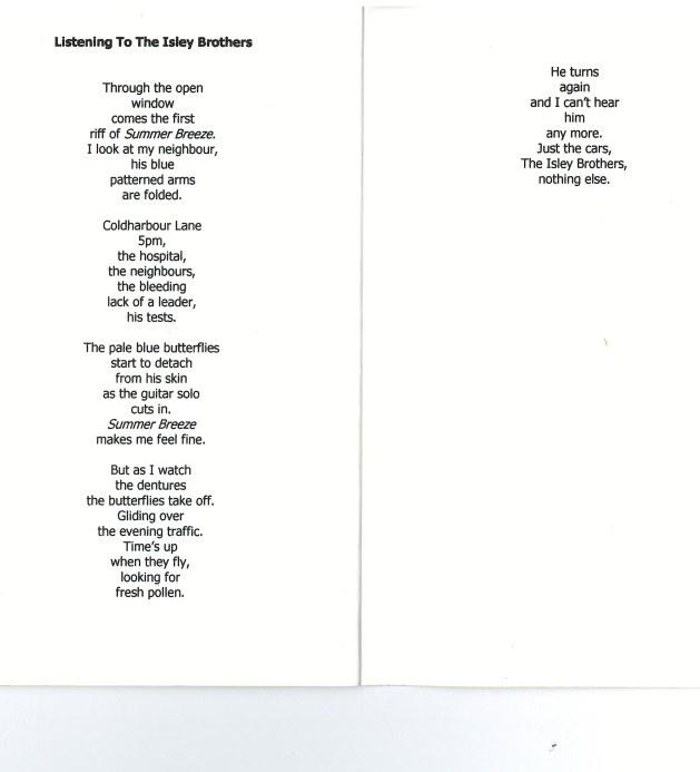 Poem Simon Stafford