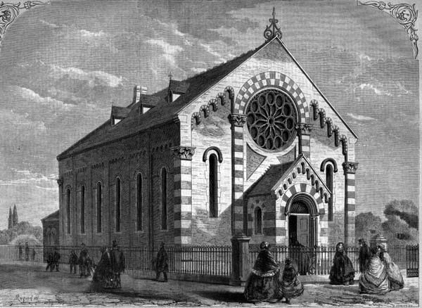 0997 The Chapel for  Converted Jews, Cold-Harbour Lane The Building News, April 26 1861x