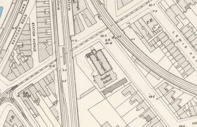 Loughborough Park Congregational Church OS 1893-96