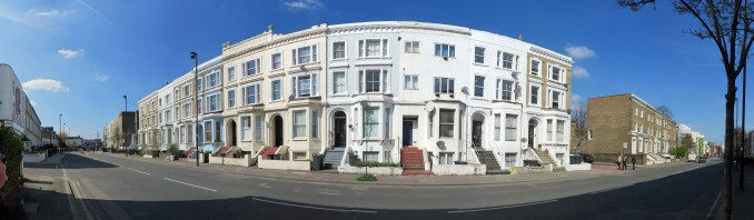 Panorama of Chichester Terrace Nick Stevens, April 2015