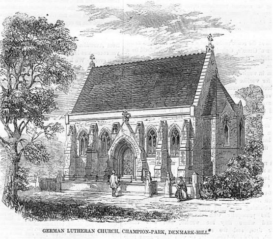 German Lutheran Chapel , Windsor Road