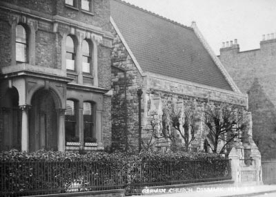 PC1330 German Evangelical Chapel, Windsor Road, c 1900 SAC