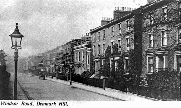 Postcard windsor-walk-denmark-hill-09 circa 1900