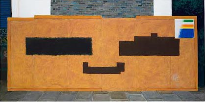 Richard Serra and Malevich Attempt a Happy Face at Loughborough Junction