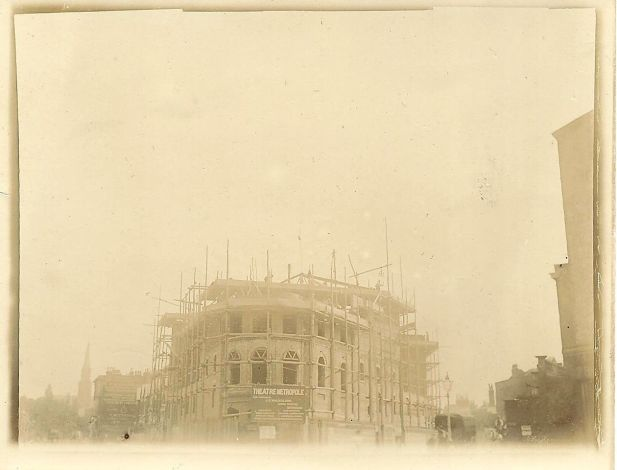 Metropole Theatre under construction 1894