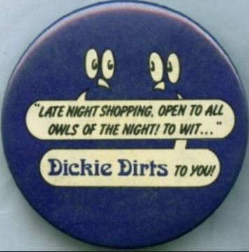 Dickie Dirts Badge