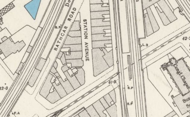 Extract from ordinance survey 193-96