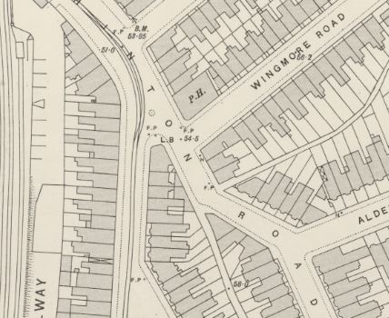 Extract from OS Map 1894-96