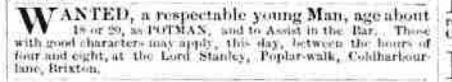 Morning Advertiser 29 September 1870