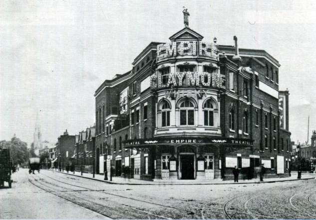 The Camberwell Empire Theatre, 1907 renamed in 1906 oreviously The Metropole Theatre
