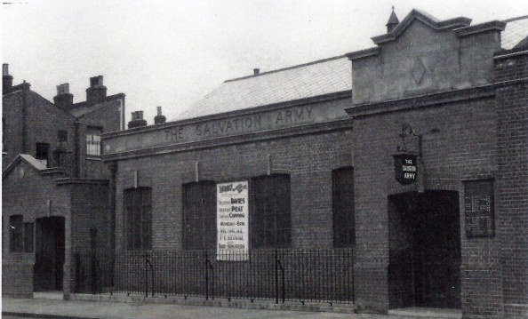 Salvation Army Hall Wanless Road date unknown from SA Library, Denmark Hill