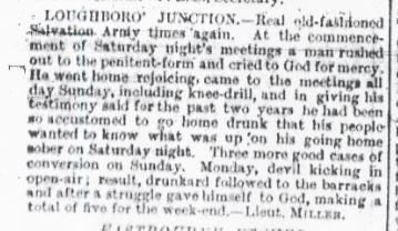 War Cry 23 July 1892