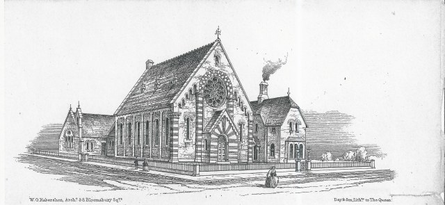Loughborough Park Congregational Church Architects drawing