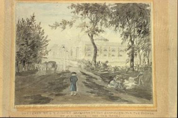 Camberwell Chapel, Denmark Hill 1797 George F Zincke SAC GA0293