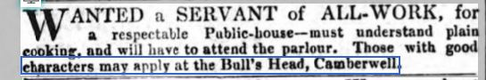 Morning Advertiser 23 Sept 1834