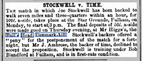 The Sportsman 28 January 1871