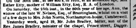 Hull Packet 04 August 1829