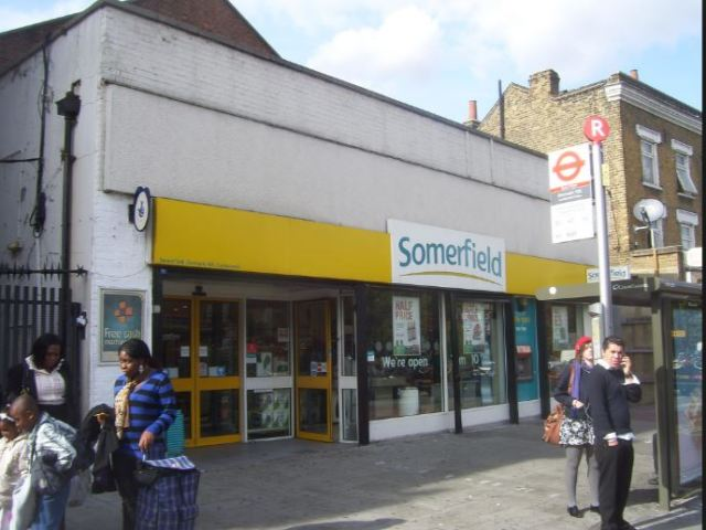Somerfield Denmark Hill Photo by Mike Hedgethorne 2009
