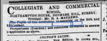 The Era 26 Jan 1851