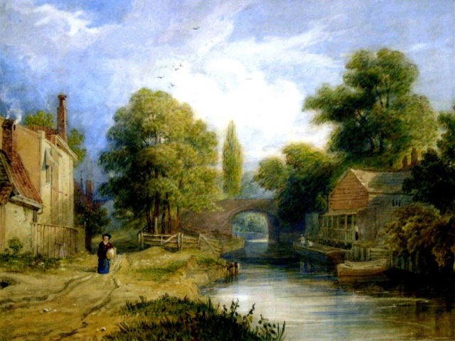 3716472350_f4353ee17d_b 1836 Henry Gastineau Croydon Canal
