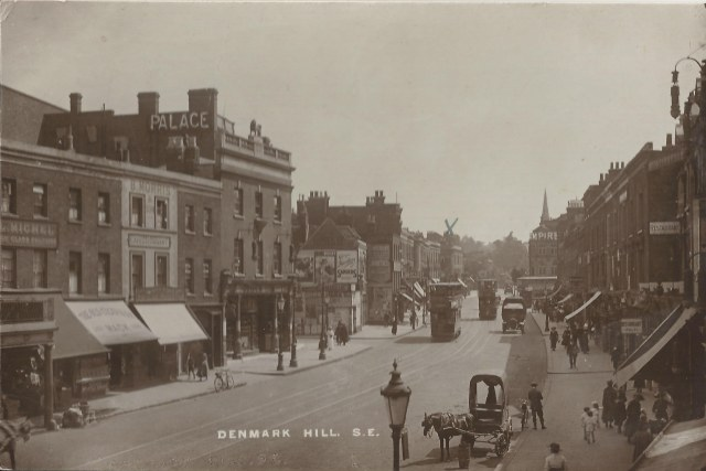 Denmark Hill S.E. W Greening pu September 1921