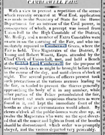 Morning Advertiser 20 August 1819