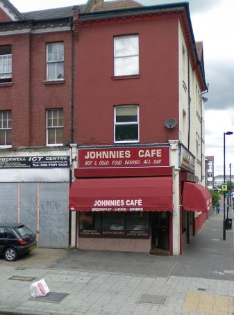 Johnnies Cafe June 2008 Streetview