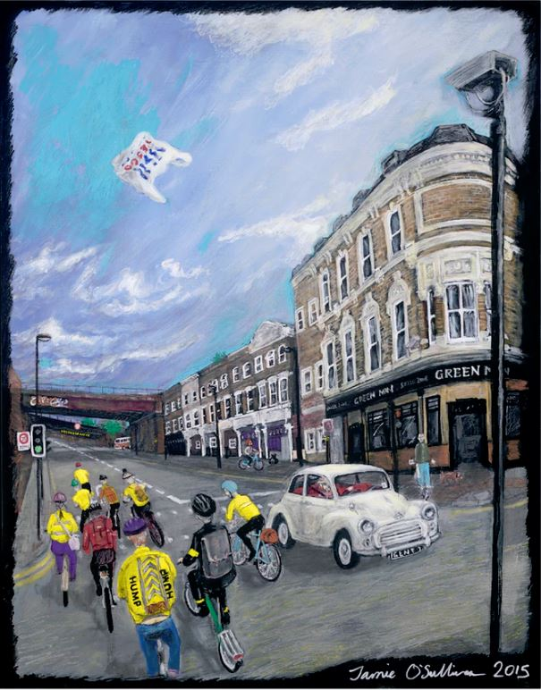Tour de Loughborough Junction, 2015 James O'Sullivan