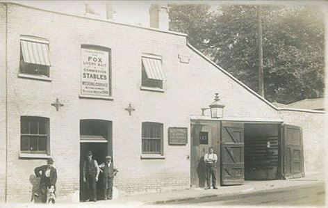 Fox Stables. 123 Denmark Hill, SE5 c1910
