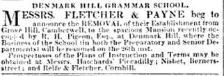 DH Grammar School The Athenaeum page 486, 1837