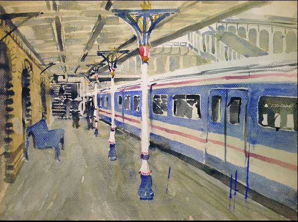 Thomas Bucci Last Train From Denmark Hill