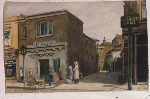 Joiners Arms Yard, Denmark Hill Edward Arthur Phipson, 1882 SAC GA0218