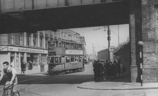 200 CL from Camberwell and West Norwood Tramways photo John H Meredith, 1951 alternate