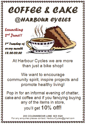 Harbour Cycles poster 2015