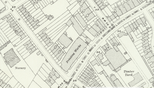 Ordinance Survey 1892-1914 extract