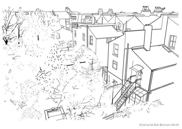 Drawing by Sam Baraitser Smith