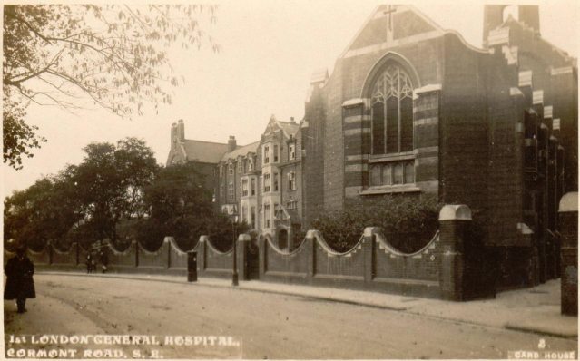1st London General Hospital Cormont Road SW Card House