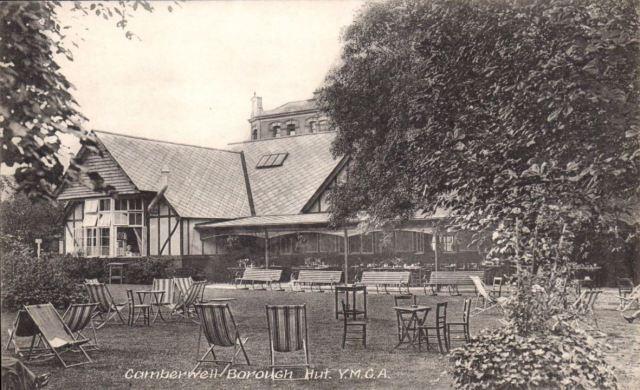 Camberwell Borough Hut YMCA Commercial Photographic Co circa 1920