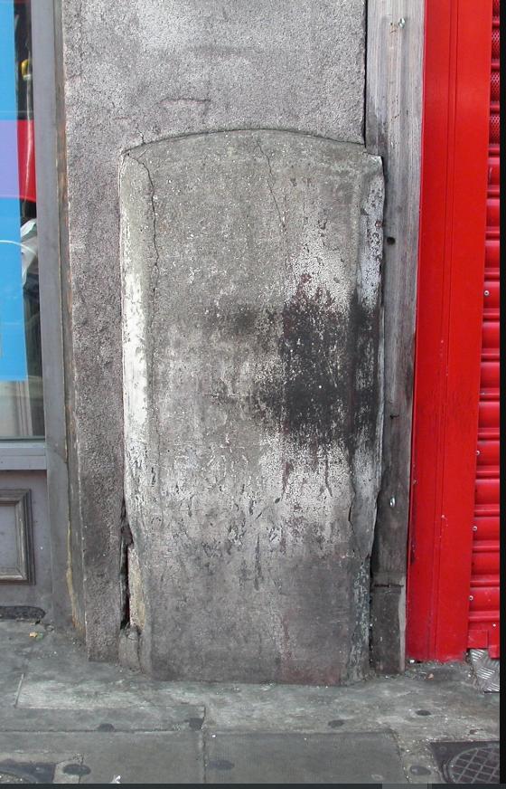 Roadside marker photo from msocrepositary.co.uk (ref SY_LODU03) dated 2009