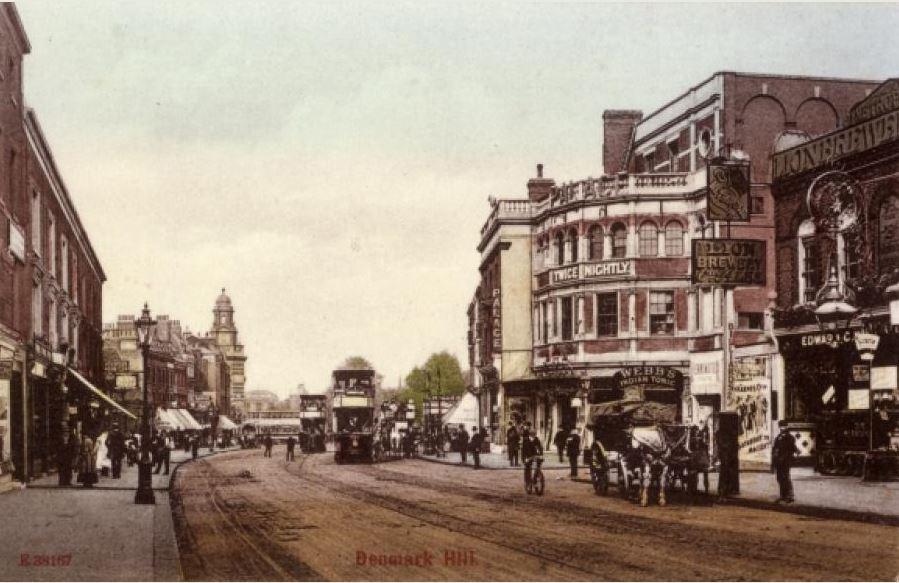 Camberwell Palace postcard