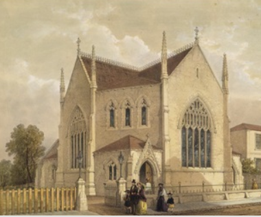Camberwell Congregational Chapel, Camberwell New Road, 1849