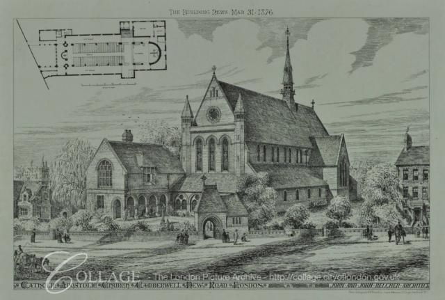 Catholic Apostolic Church Camberwell New Road from Collage