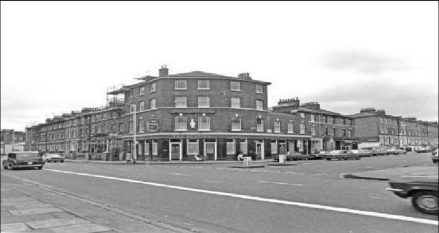 The Station pub, 1977 photo by Jason Kervan